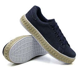 Tênis Casual Pietra Corda Jeans DKShoes - Rilu Fashion