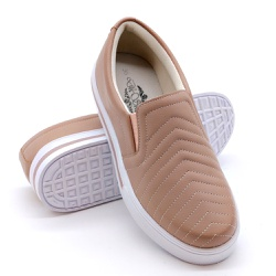 Slip On Pietra Costura Pala Rosê DKShoes - Rilu Fashion