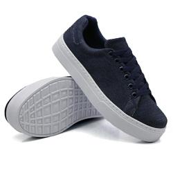 Tênis Casual Pietra Jeans DKShoes - Rilu Fashion