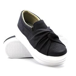 Slip On Nó Sola Alta Jeans DKShoes - Rilu Fashion