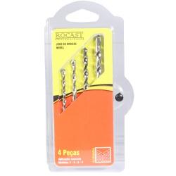 Jogo de Brocas Vídia Metal Duro DIN8039 4 peças 4,0a8,0mm 16... - Ritec Máquinas e Ferramentas