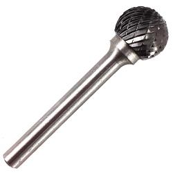 Lima Rotativa Esférica em Metal Duro MD 16,00mm 45,0058 ROCA... - Ritec Máquinas e Ferramentas