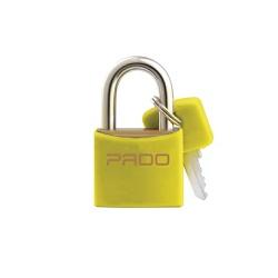 Cadeado Cores Amarelo 40mm - LT-40 - PADO - Ritec Máquinas e Ferramentas