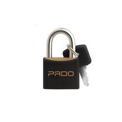 Cadeado Cores Preto 40mm - E-40 - PADO - Ritec Máquinas e Ferramentas