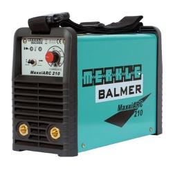 Máquina de Solda Inversora 210A MaxxiARC210 - Balmer 220V - Ritec Máquinas e Ferramentas