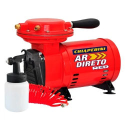 Compressor Ar Direto Red 1/3 HP Bivolt - Chiaperini - Ritec Máquinas e Ferramentas
