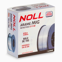 Arame de Solda MIG 0,8mm 389,0001 NOLL - Ritec Máquinas e Ferramentas