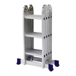 Escada Multifuncional com Plataforma 4x3 12 Degraus - MOR - Ritec Máquinas e Ferramentas