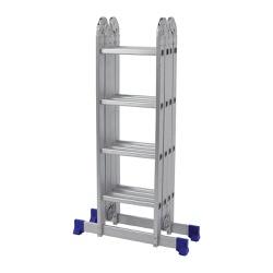 Escada Multifuncional com Plataforma 4x4 16 Degraus - MOR - Ritec Máquinas e Ferramentas