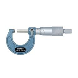 Micrômetro Externo 0-25mm 0,01mm 103-137 - Mitutoyo - Ritec Máquinas e Ferramentas