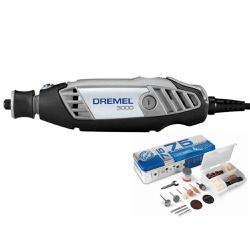 Micro Retífica DREMEL 3000 10 + 75 Acessórios - DREMEL - Ritec Máquinas e Ferramentas