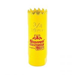 Serra Copo Fast Cut 3/4' (19mm) - FCH0034-G - Starrett - Ritec Máquinas e Ferramentas