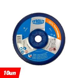 Combo Disco de Lixa Flap Plano 180mm Grana 60 - Basic 28N - ... - Ritec Máquinas e Ferramentas