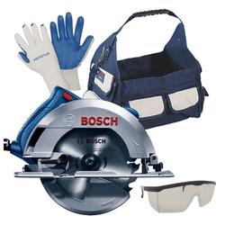 Kit Bosch Serra circular GKS 150 127V + Bolsa + Brindes - Bo... - Ritec Máquinas e Ferramentas
