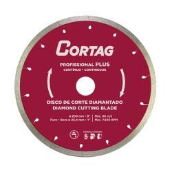Disco de Corte Diamantado Profissional Plus 200mm 8Pol. 6.00... - Ritec Máquinas e Ferramentas