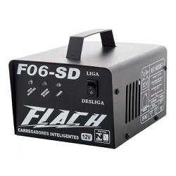 Carregador Inteligente de Bateria 6A-12V Bivolt F06-SD - Fla... - Ritec Máquinas e Ferramentas