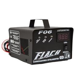Carregador Inteligente de Bateria 6A-12V Bivolt F06 - Flach - Ritec Máquinas e Ferramentas