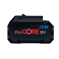 Bateria de Íons de Lítio Bosch ProCORE 18V 8,0Ah - Ritec Máquinas e Ferramentas