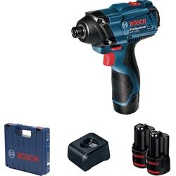 Chave de Impacto a Bateria de ¼'' Bosch GDR 120-LI, 100Nm, 1... - Ritec Máquinas e Ferramentas