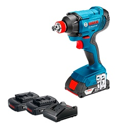 Chave de Impacto a Bateria de ¼ e ½'' Bosch GDX 180-LI, 18V,... - Ritec Máquinas e Ferramentas
