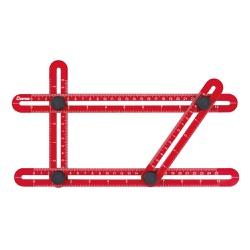 Gabarito Angular Multifunção Plástico - Cortag - Ritec Máquinas e Ferramentas