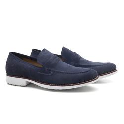 Sapato Masculino Loafer Azul Carmel - RITUCCI