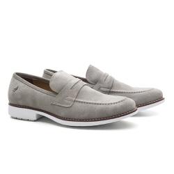Sapato Masculino Loafer Cinza Crissy Field - RITUCCI