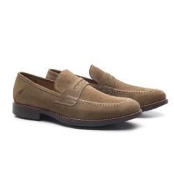 Sapato Masculino Loafer Kaki Manly - RITUCCI