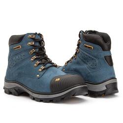 Bota Masculina Mad Max Jhon Boots Azul Aço - 1600 - ROTA SHOES