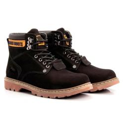 Bota Masculina Tratorada Jhon Boots Preta - 850 - ROTA SHOES