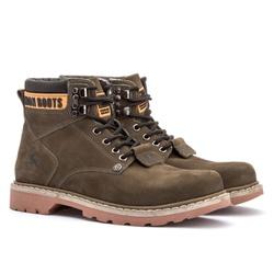 Bota Jhon Boots Tratorada Verde musgo - 850 - ROTA SHOES