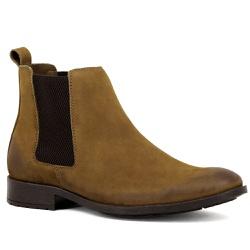 Botina Chelsea Boots Rato couro legítimo - 771 - ROTA SHOES
