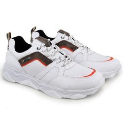 Tênis Chunky Sneaker Masculino Tracker Em Couro Br... - ROTA SHOES