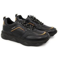 Tênis Chunky Sneaker Masculino Tracker Em Couro Ma... - ROTA SHOES