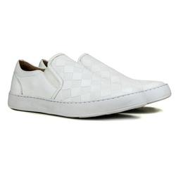 Iate Masculino Couro Premium White - 4000 - ROTA SHOES