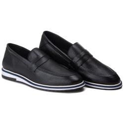 Loafer Esporte Fino Tchwm Shoes em Couro Legitimo ... - ROTA SHOES
