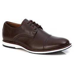 Sapato Brogue Premium em Couro Confort Tchwm Shoes... - ROTA SHOES