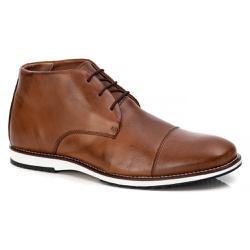 Sapato Brogue Cano Alto Premium em Couro Confort C... - ROTA SHOES
