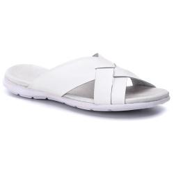 Chinelo masculino couro legítimo branco - R11 - ROTA SHOES