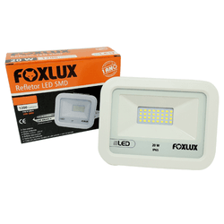 Refletor de Led 30W 6500K Branco 38.35 Foxlux Bivolt - Santec