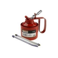 Almotolia Metal 285gr Haste Fixa e Flexível 1396102 Starfer... - Santec
