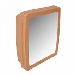 Armário para Banheiro Bege com Espelho 2653 Herc - Santec