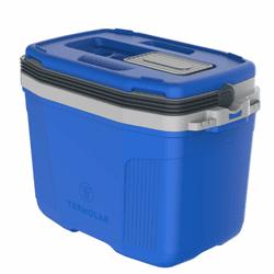 Caixa Térmica 32 Litros Azul 3502az Termolar - Santec
