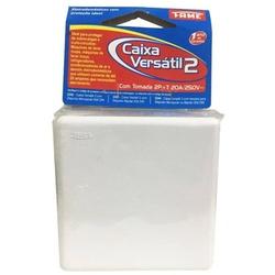 Caixa Versátil Nº2 Para Disjuntor + Tomada 20A 2344 Fame - Santec