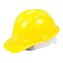 Capacete De Segurança Amarelo Modelo Plt Plastcor - Santec
