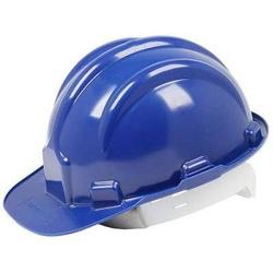 Capaceta De Segurança Azul Modelo Plt Plastcor - Santec