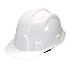 Capacete De Segurança Branco Modelo Plt Plastcor - Santec