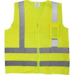 Colete Refletivo Amarelo com Bolso Plastcor - Santec