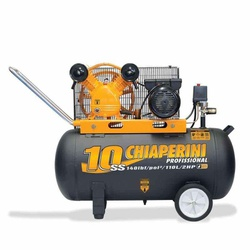 Compressor De Ar 10 Ss 110 Litros C/ Motor Bivolt Monofásico... - Santec