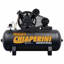 Compressor De Ar 20 Apv 200 Litros C/ Motor Trifásico 5Hp 68... - Santec
